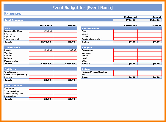 Best Budget Excel Template 2016 Beautiful 5 Bud Template Free