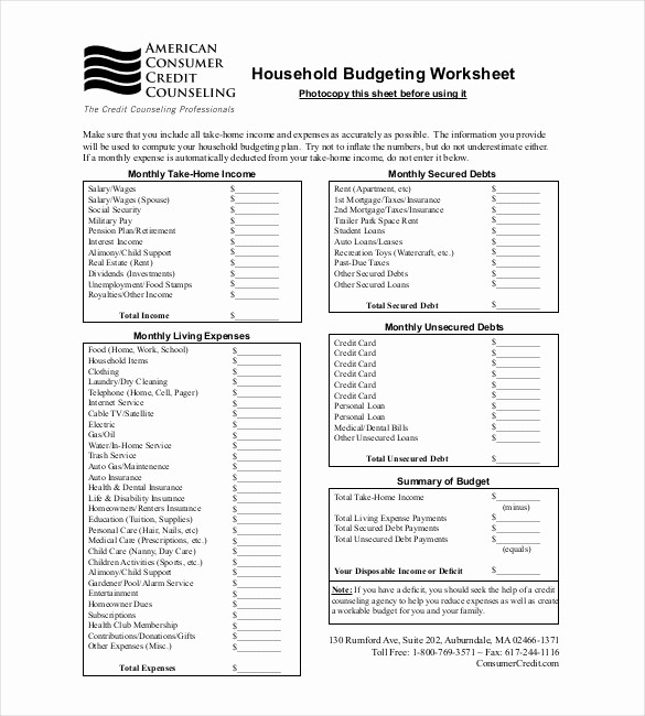 Best Budget Excel Template 2016 Fresh 9 Bud Tracker Templates – Free Sample Example format