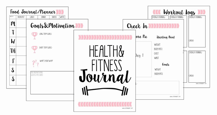 Best Food and Exercise Journal Unique 25 Best Ideas About Fitness Journal On Pinterest