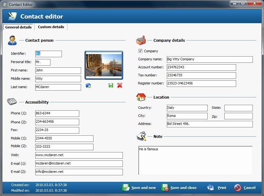 Best Free Online Address Book Best Of Free Address Book Contact Management Screenshot Best