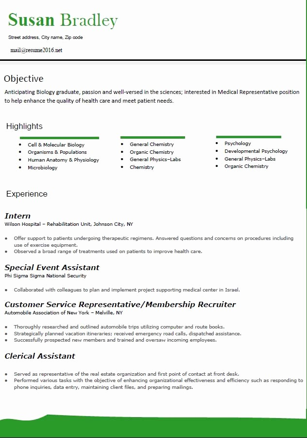 Best Free Resume Templates 2016 Elegant Best Resume format 2016