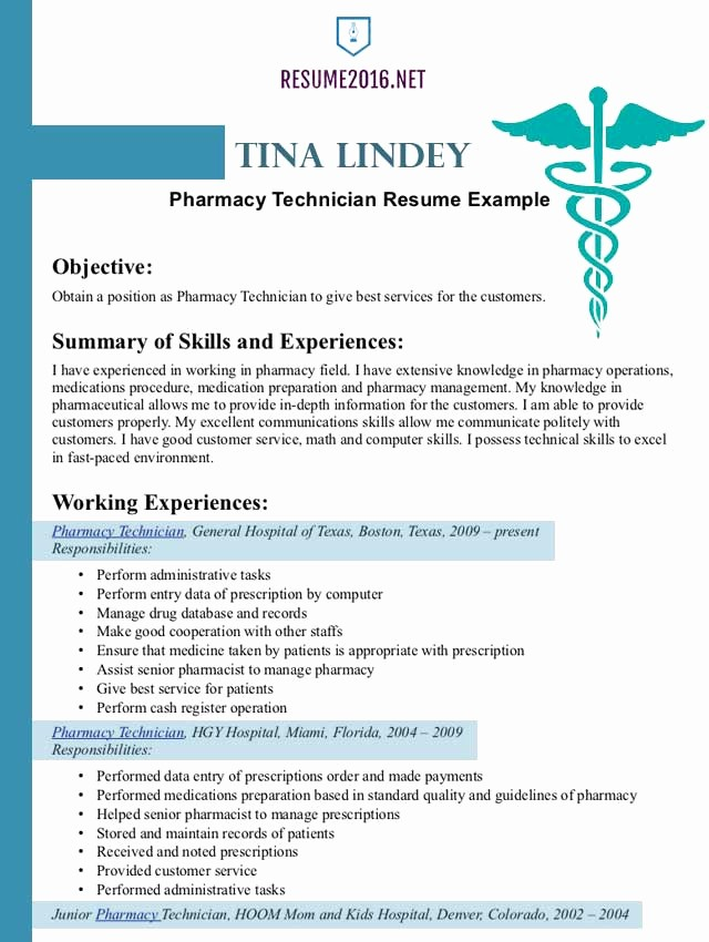 Best Free Resume Templates 2016 Fresh Pharmacist Resume Example 2016