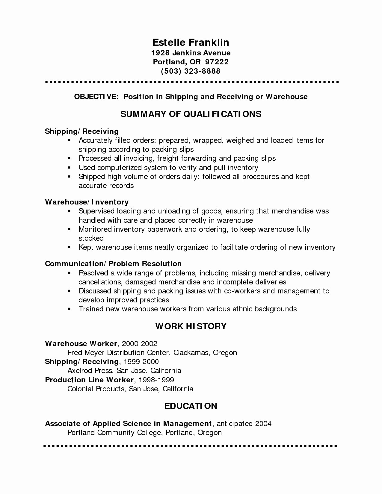 3 best free resume templates
