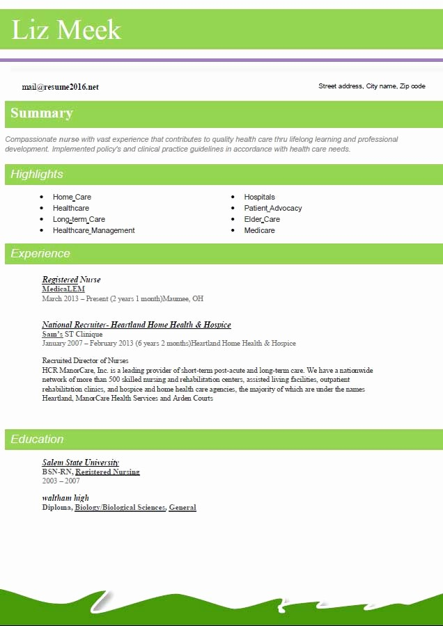 Best Free Resume Templates 2016 Lovely Resume format 2016 12 Free to Word Templates