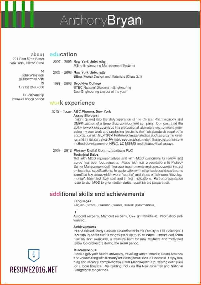 Best Free Resume Templates 2016 Luxury 13 the Best Resume Templates for 2016 Bud Template