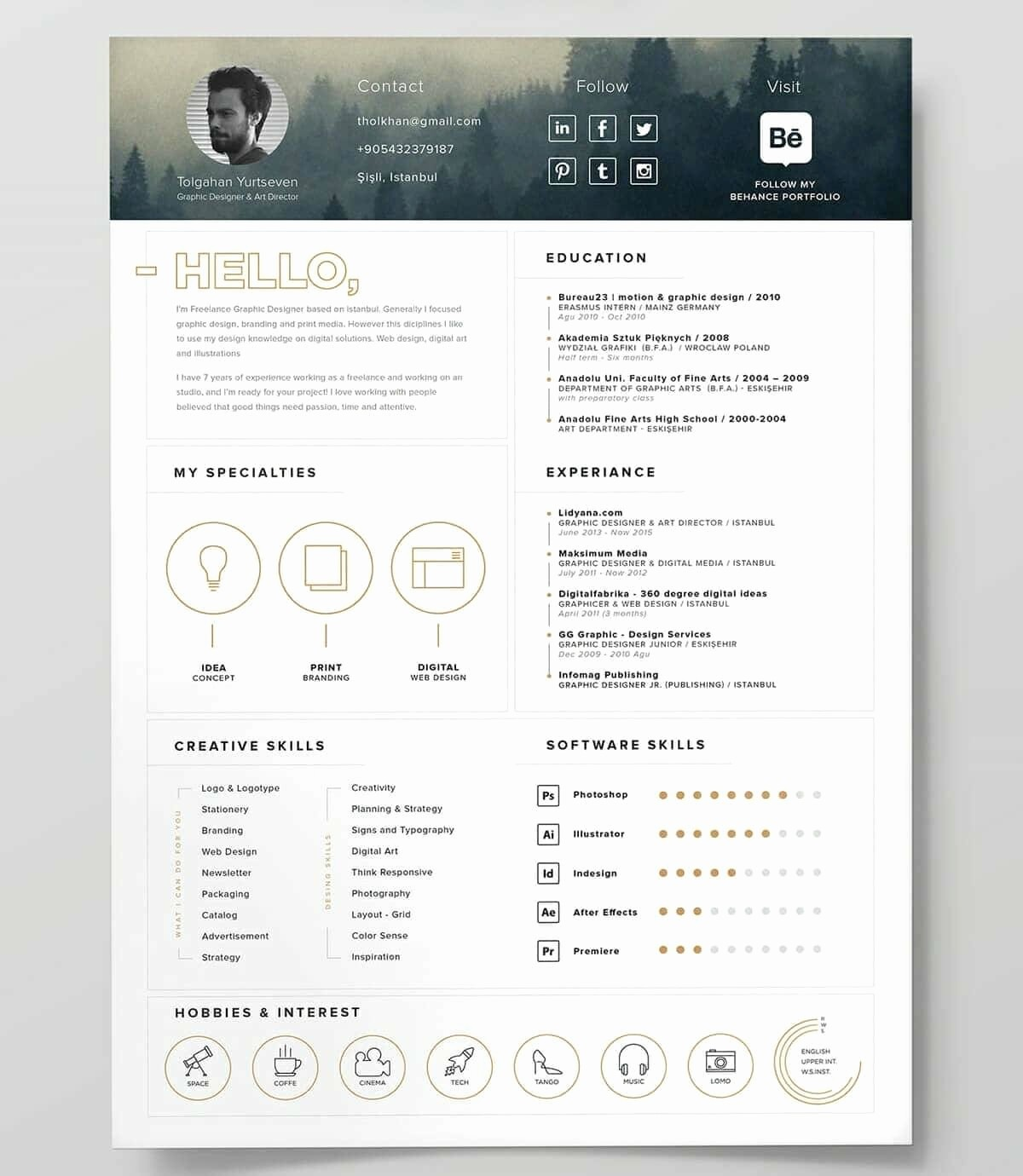 Best Free Word Resume Templates Elegant Best Resume Templates 15 Examples to Download & Use Right