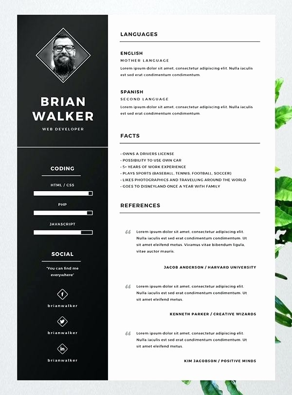 Best Free Word Resume Templates Fresh Free Resume Templates for Word Illustrator Template Cv