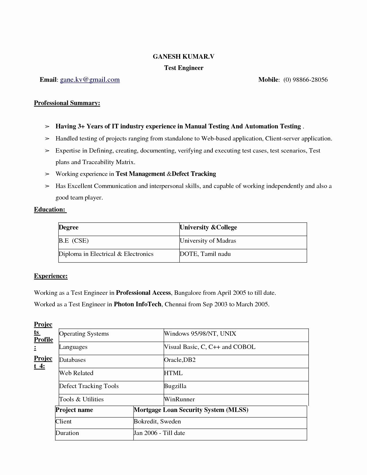 Best Ms Word Resume Template Best Of Resume Template Microsoft Word 2017