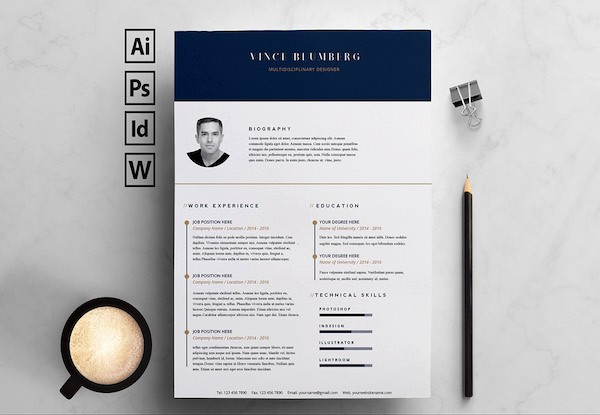 Best Ms Word Resume Template Lovely 15 Free Resume Templates for Microsoft Word that Don T