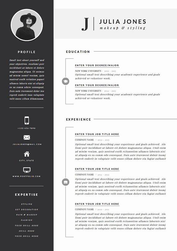 Best Ms Word Resume Template Luxury Best 25 Resume Templates Ideas On Pinterest