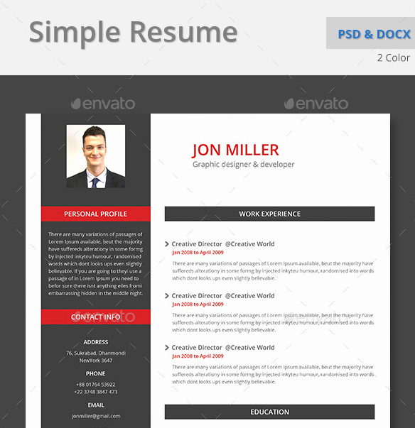Best Ms Word Resume Templates Lovely top 10 Professional Microsoft Word Cv Templates Custom Made