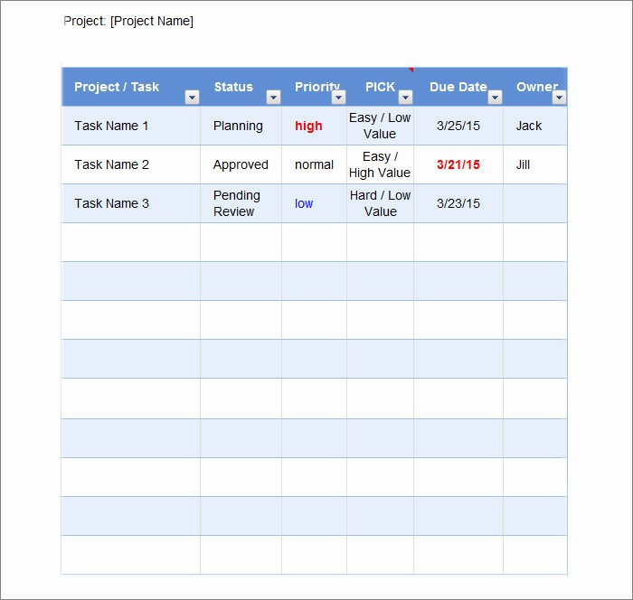 Best to Do List format Best Of to Do List Template Free Templates