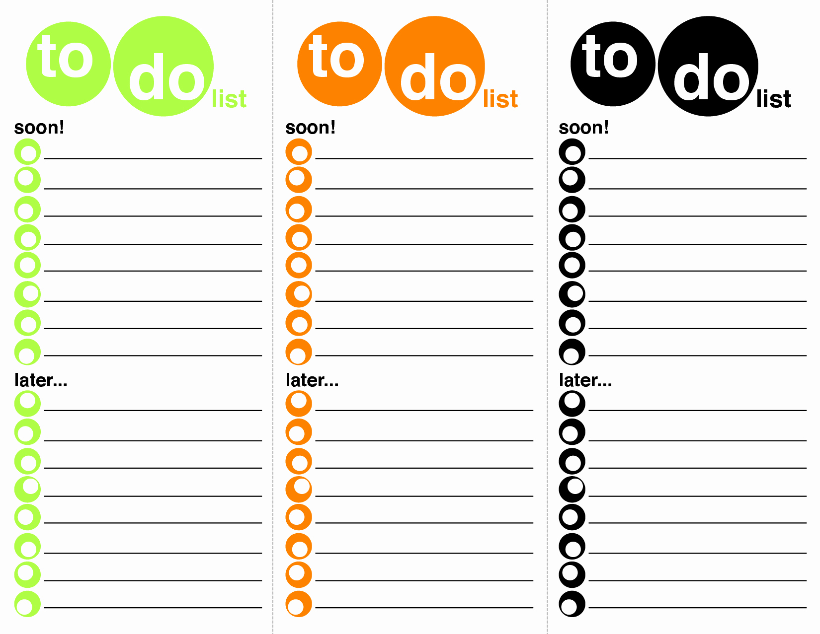 Best to Do List format Elegant to Do List Template Word