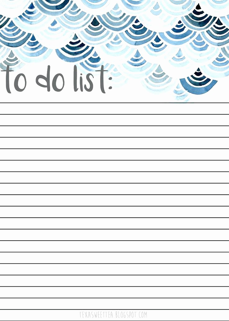 Best to Do List format Lovely Printable to Do List Templates Free Checklist Template