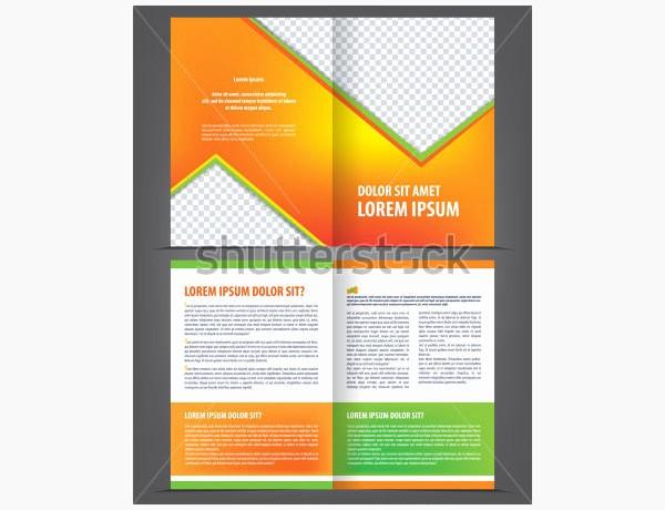 Bi-fold Brochure Template Awesome Printable Bi Fold Brochure Templates 79 Free Word Psd