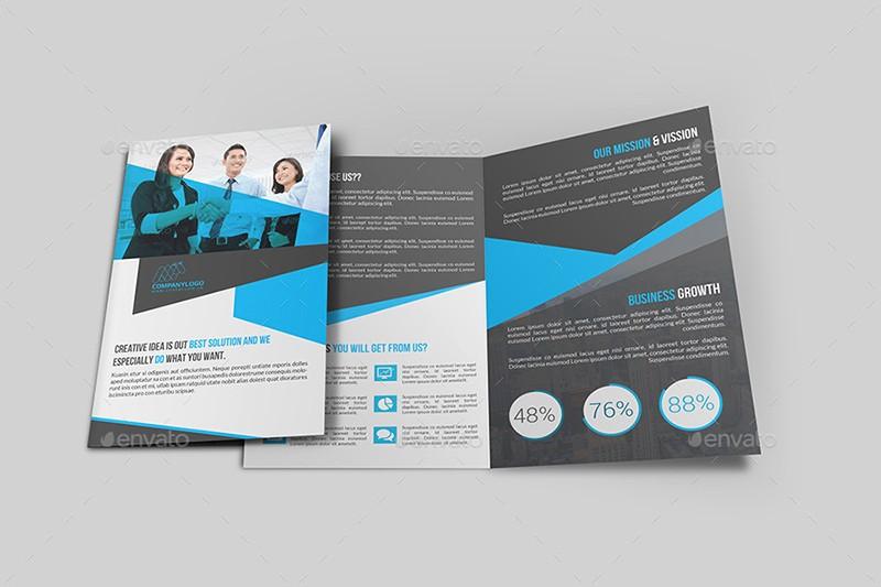 Bi-fold Brochure Template Elegant 22 Bi Fold Brochure Psd Templates