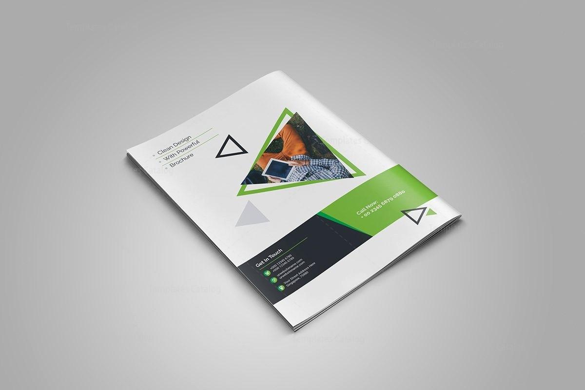 Bi-fold Brochure Template Fresh topaz Corporate Bi Fold Brochure Template