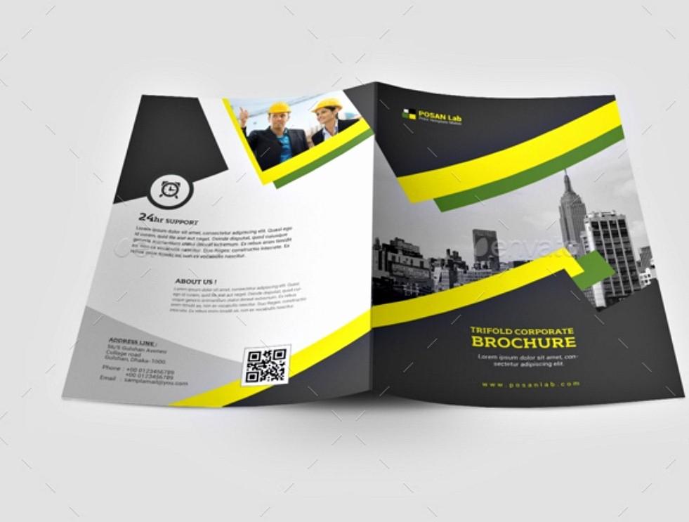 Bi-fold Brochure Template Inspirational 20 Examples Of Bi Fold Brochure Design