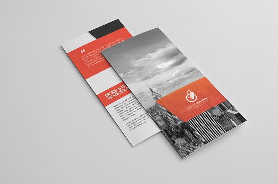 Bi-fold Brochure Template Inspirational Bi Fold & Tri Fold Brochure Template On Behance