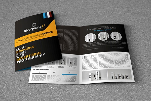 Bi-fold Brochure Template Inspirational Printable Bi Fold Brochure Templates 79 Free Word Psd