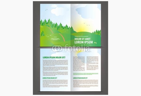 Bi-fold Brochure Template Lovely Printable Bi Fold Brochure Templates 79 Free Word Psd
