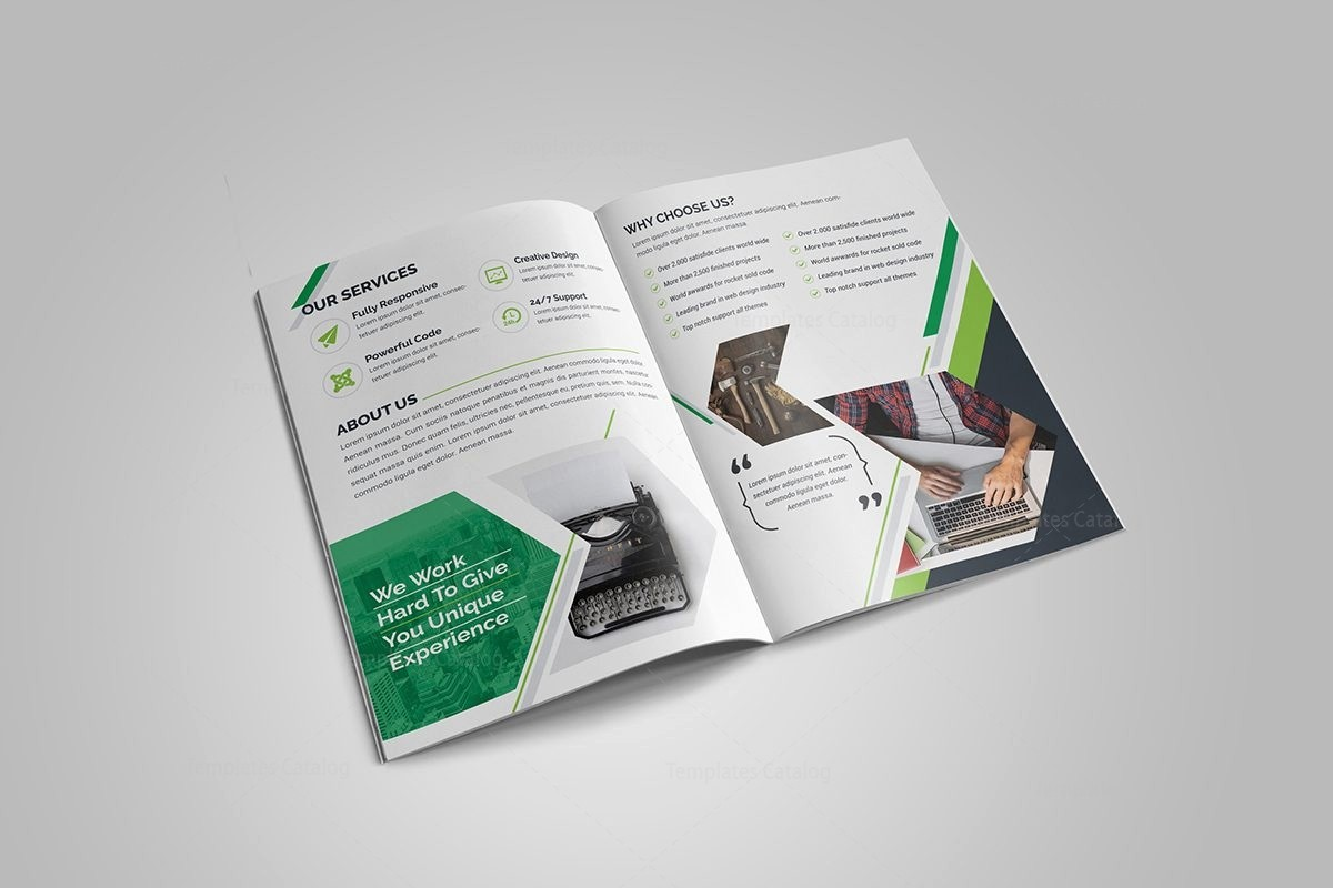 Bi-fold Brochure Template Luxury Sapphire Bi Fold Brochure Template Template Catalog
