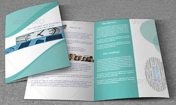 Bi-fold Brochure Template New 5 Best Of Simple Brochure Design Tri Fold