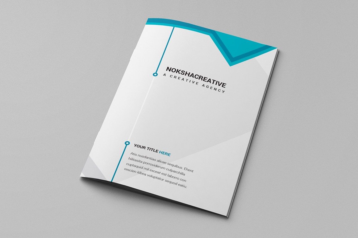 Bi-fold Brochure Template New Bi Fold Brochure Brochure Templates On Creative Market