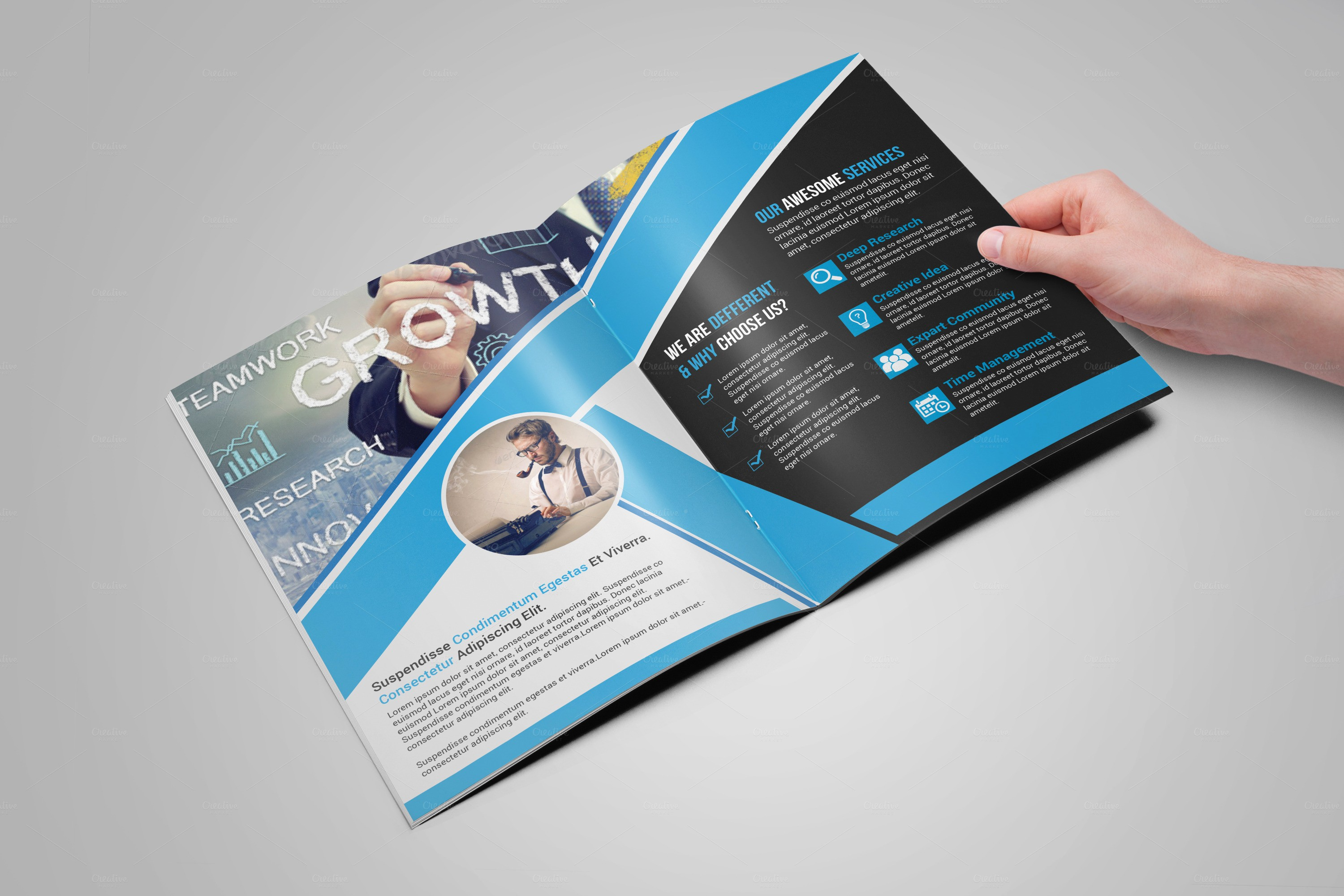 Bi-fold Brochure Template Unique Bi Fold Brochure Template Brochure Templates On Creative