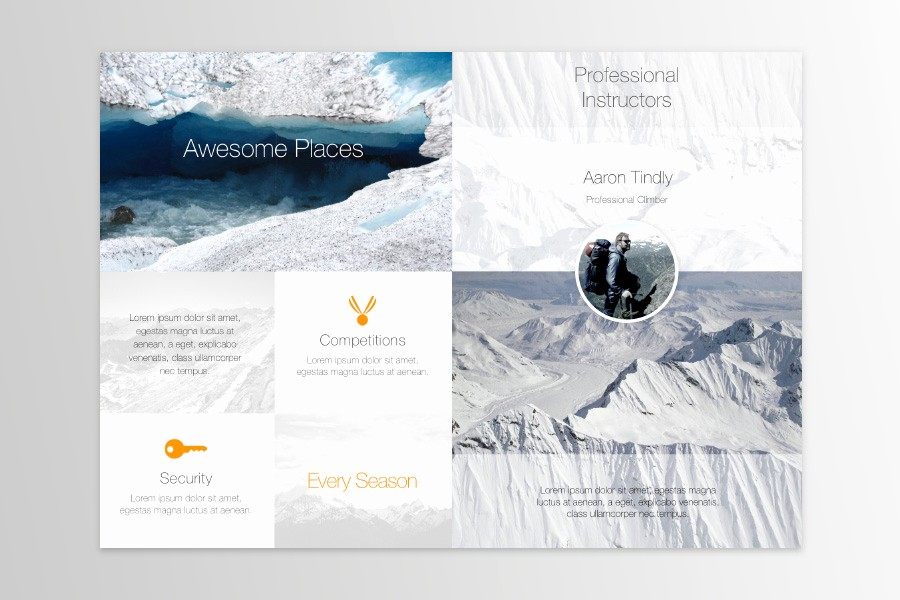 Bi-fold Brochure Template Unique Free Publisher Templates for Mac