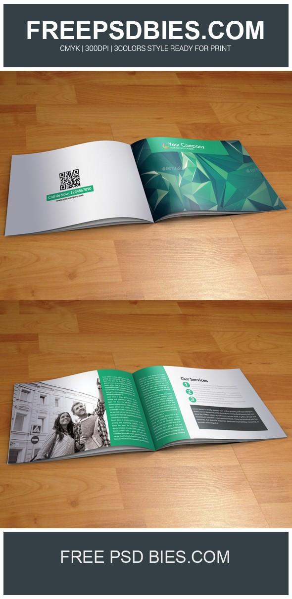 Bi Fold Brochure Templates Free Beautiful Bi Fold Business Brochure Free Psd Template by