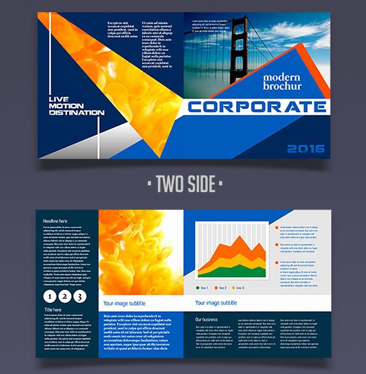 Bi Fold Brochure Templates Free Elegant 12 attention Grabbing Bi Fold Brochure Free Psd Templates