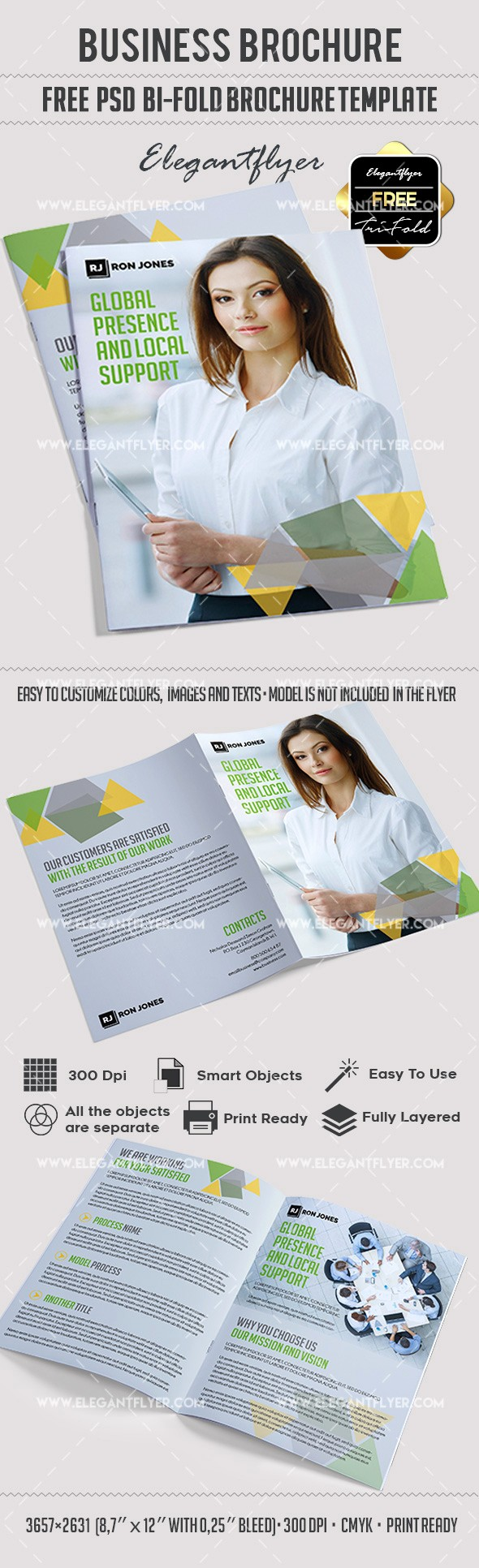 Bi Fold Brochure Templates Free Fresh Business – Free Bi Fold Psd Brochure Template – by