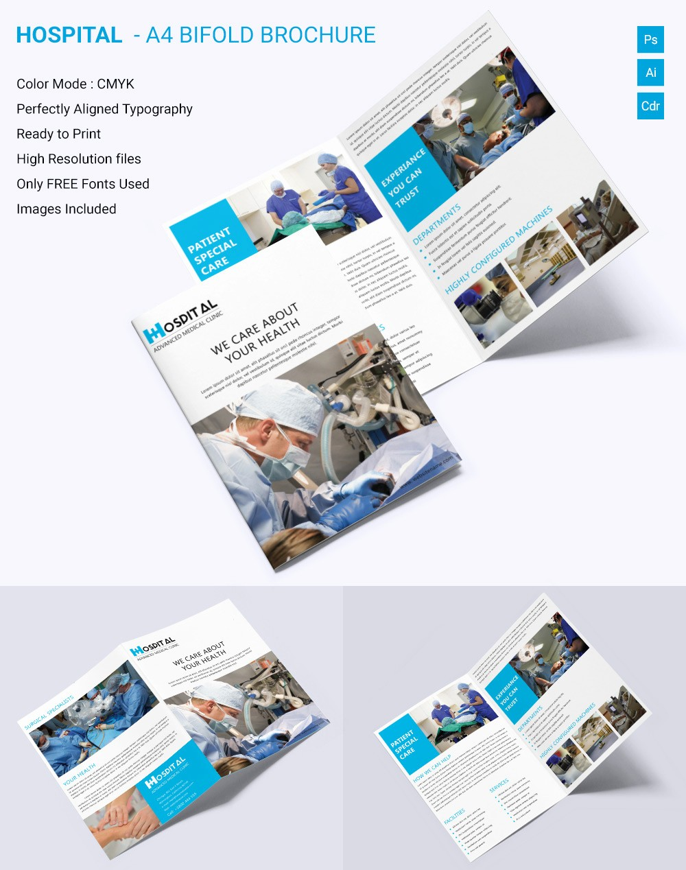Bi Fold Brochure Templates Free Fresh Medical Brochure Template – 39 Free Psd Ai Vector Eps