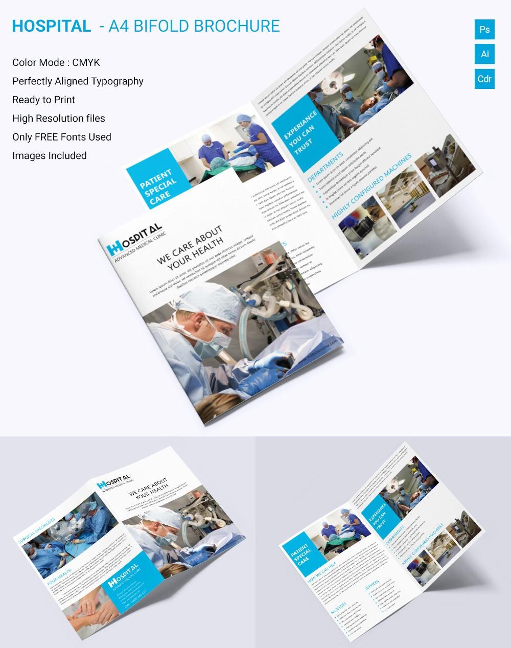 Bi Fold Brochure Templates Free Fresh Medical Brochure Template – 39 Free Psd Ai Vector Eps