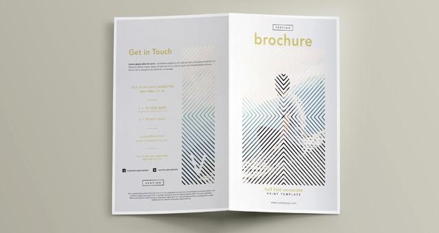 Bi Fold Brochure Templates Free Fresh Vertigo Bi Fold Brochure Template