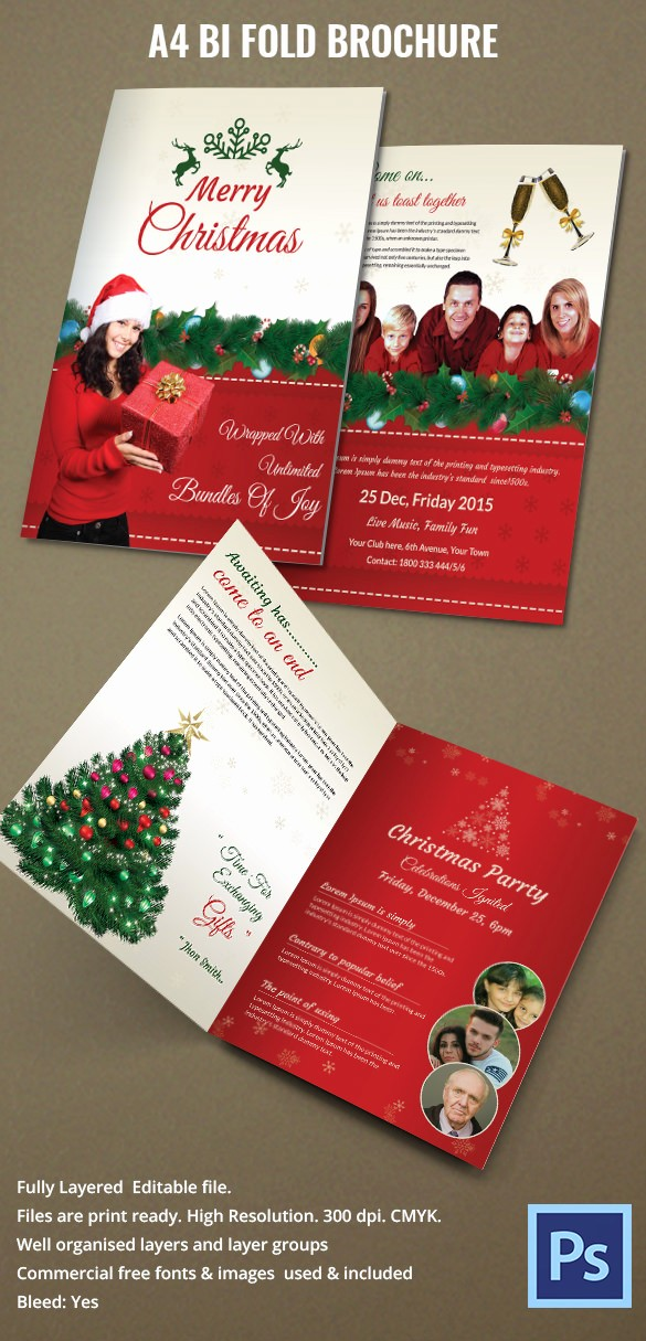 Bi Fold Brochure Templates Free Inspirational 19 Bi Fold Brochure Templates – Free Word Pdf Psd Eps