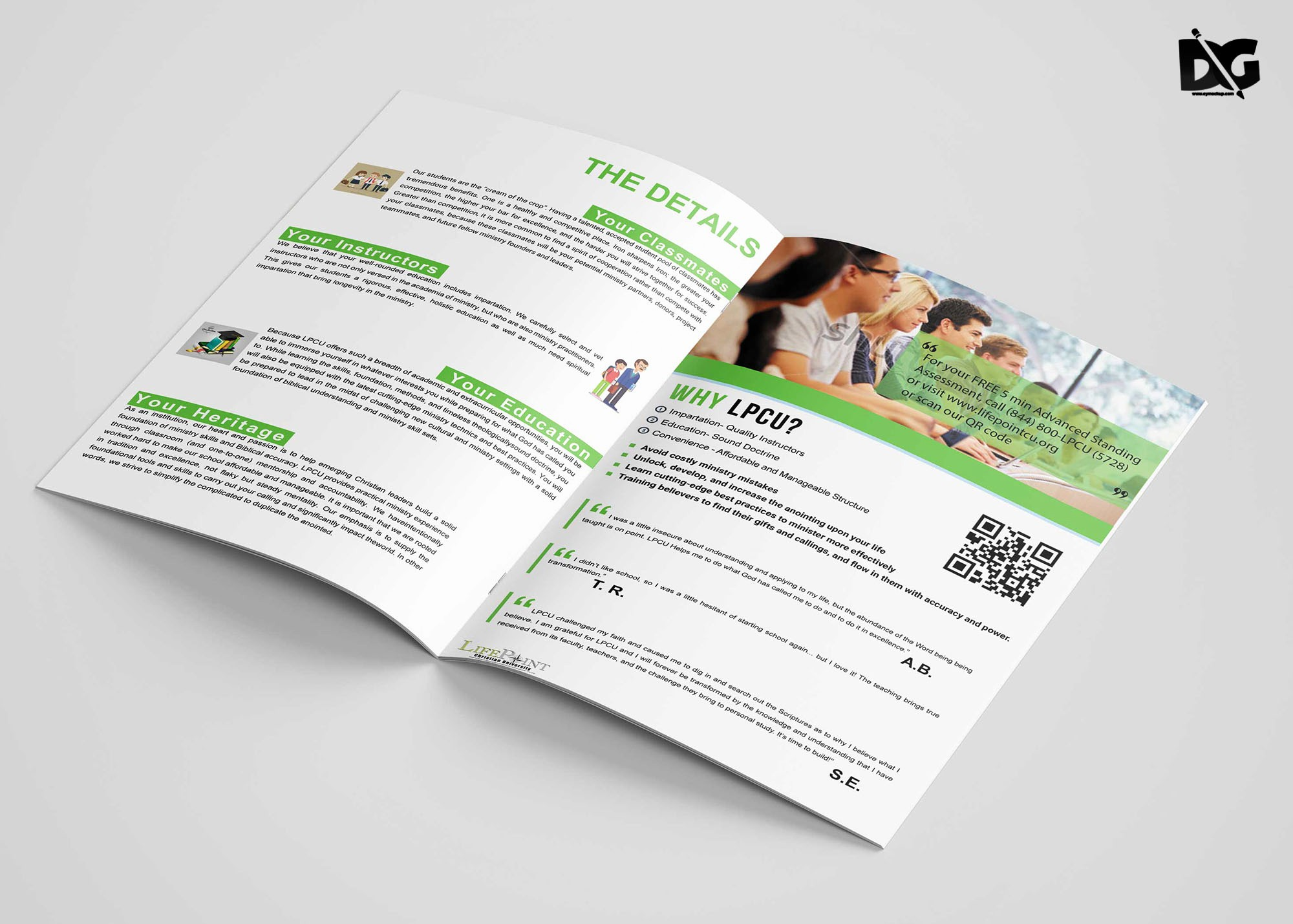 Bi Fold Brochure Templates Free Inspirational Free Download Psd University Bi Fold Brochure Template