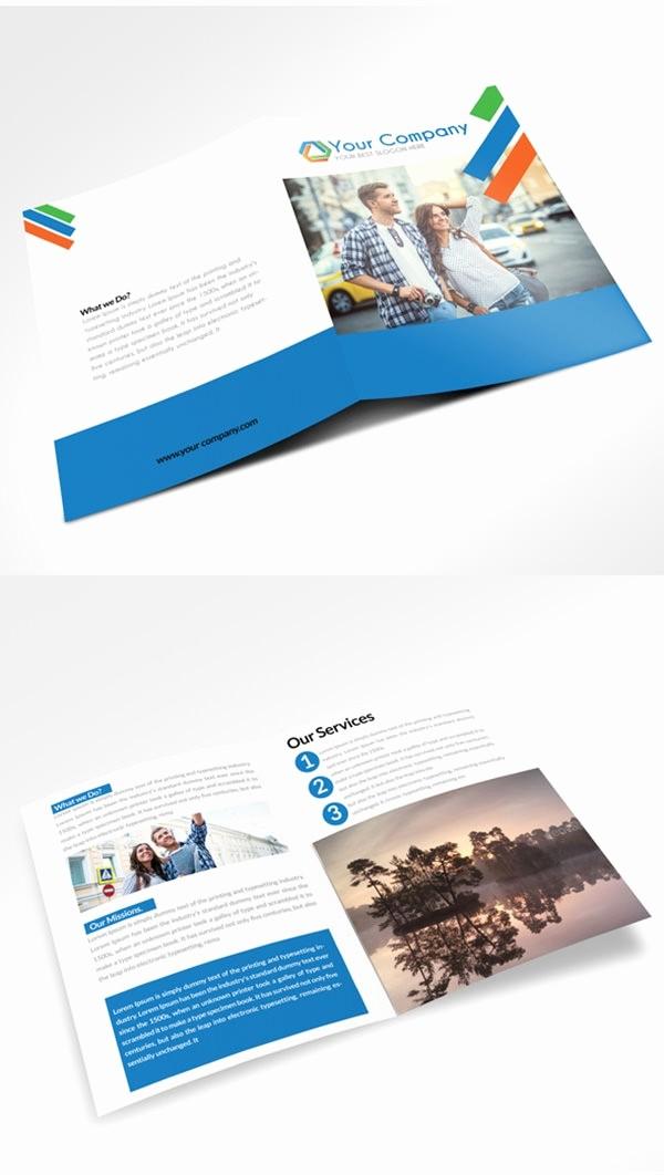 Bi Fold Brochure Templates Free Lovely 21 Free Psd Bi Fold Brochure Mockups
