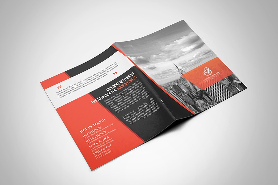 Bi Fold Brochure Templates Free Lovely Bi Fold & Tri Fold Brochure Template On Behance