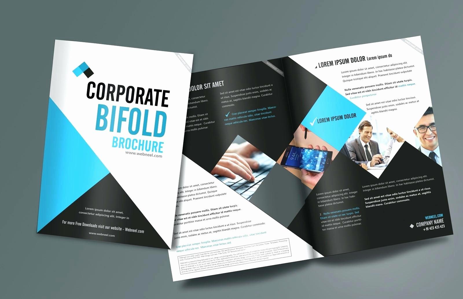 Bi Fold Brochure Templates Free New 3 Fold Brochure Template Indesign