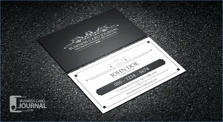 Bi-fold Card Template Beautiful Bi Fold Business Card Template