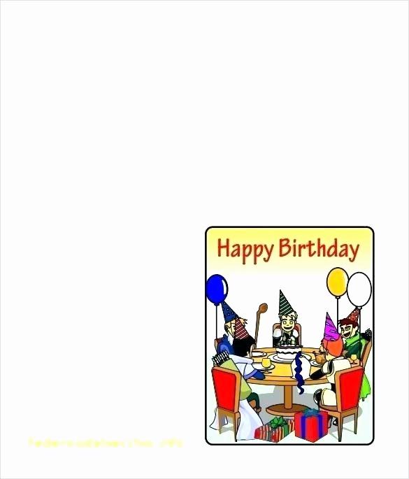 Bi-fold Card Template Beautiful Bi Fold Greeting Card Template