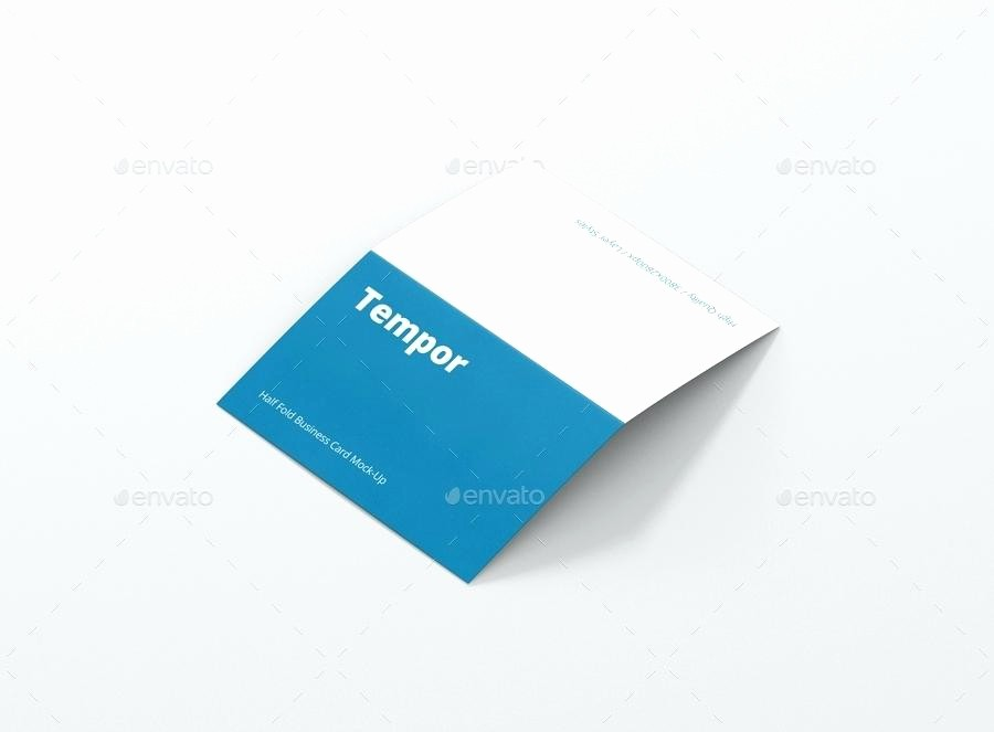 Bi-fold Card Template Best Of 100 Trifold Business Card Template Google Docs Tri Fold