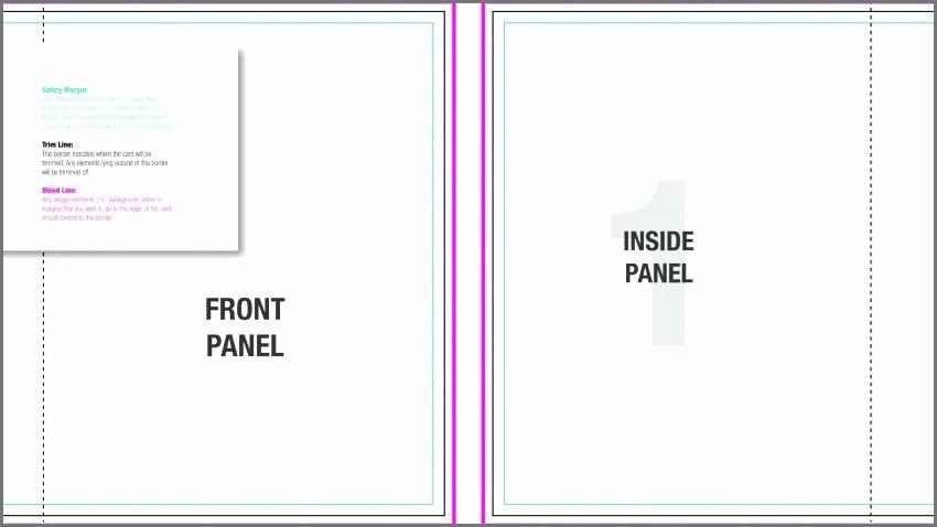 Bi-fold Card Template Elegant Bi Fold Card Template Custom Free Greeting – Drsclinic