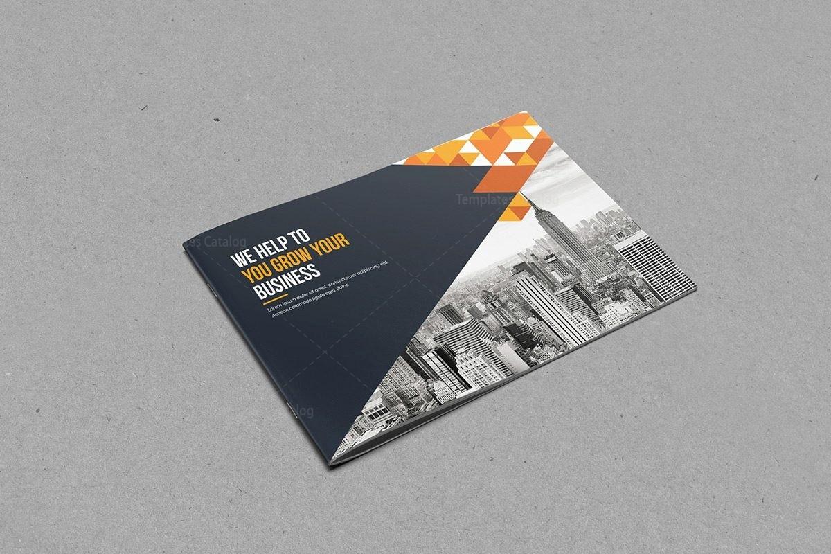 Bi-fold Card Template New Bi Fold Brochure Template with Classy Style