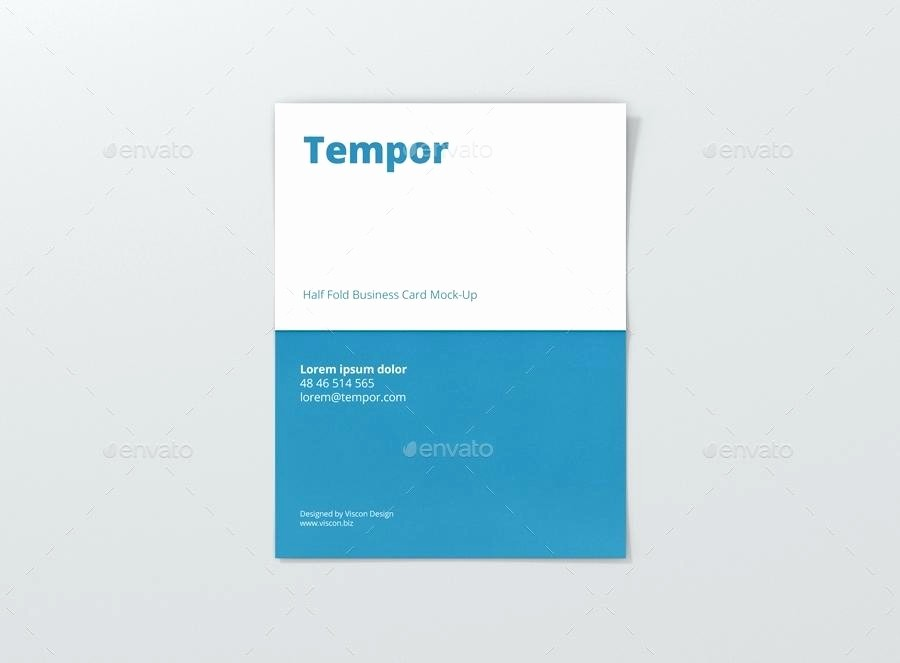 Bi-fold Card Template Unique Bi Fold Business Card Template Funky Picture Collection