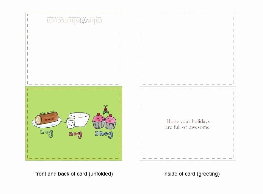 Bi-fold Card Template Unique Bi Fold Greeting Card Template – Ddmoon