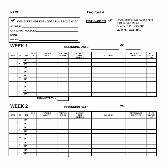 Bi Monthly Timesheet Template Excel Awesome Template Hourly Timesheet Template Excel