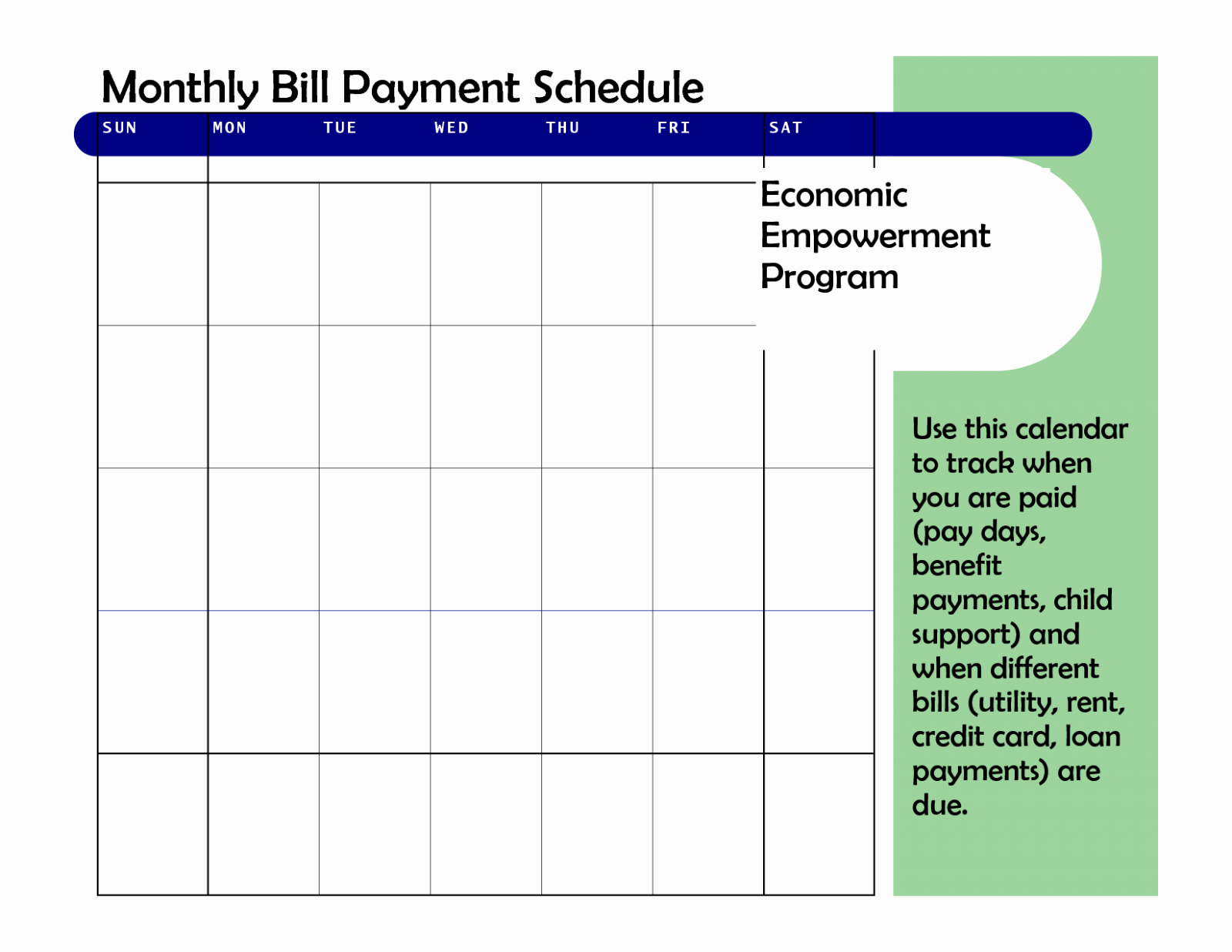 Bi Weekly Bill Pay Template Luxury Monthly Bill Chart Final Bi Weekly Planner Template Free